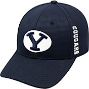Top of the World Men's BYU Cougars Blue Booster Plus 1Fit Flex Hat