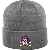 Top of the World Men's East Carolina Pirates Grey Cuff Knit Beanie