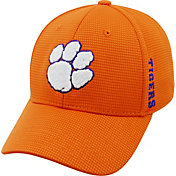 Top of the World Men's Clemson Tigers Orange Booster Plus 1Fit Flex Hat