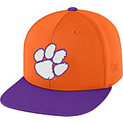 Top of the World Men's Clemson Tigers Orange/Regalia Eager Snapback Hat