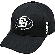 Top of the World Men's Colorado Buffaloes Black Booster Plus 1Fit Flex Hat