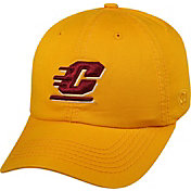 Top of the World Men's Central Michigan Chippewas Gold Crew Adjustable Hat