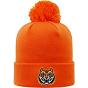 Top of the World Men's Idaho State Bengals Orange Pom Knit Beanie