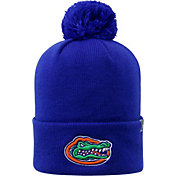 Top of the World Men's Florida Gators Blue Pom Knit Beanie