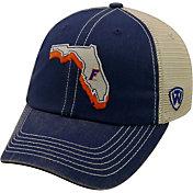 Top of the World Men's Florida Gators Blue/White United Adjustable Snapback Hat