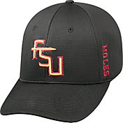 Top of the World Men's Florida State Seminoles Black Booster Plus 1Fit Flex Hat