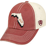 Top of the World Men's Florida State Seminoles Garnet/White United Adjustable Snapback Hat