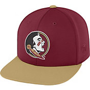 Top of the World Men's Florida State Seminoles Garnet/Gold Eager Snapback Hat