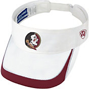 Top of the World Men's Florida State Seminoles White Teed Off Visor