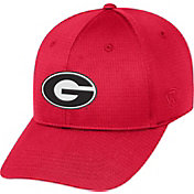 Top of the World Men's Georgia Bulldogs Red Parallax 1Fit Flex Hat