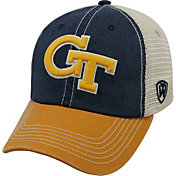 Top of the World Men's Georgia Tech Yellow Jackets Navy/White/Gold Off Road Adjustable Hat