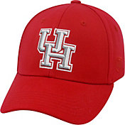 Top of the World Men's Houston Cougars Red Premium Collection M-Fit Hat