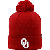 Top of the World Men's Oklahoma Sooners Crimson Pom Knit Beanie