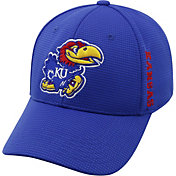 Top of the World Men's Kansas Jayhawks Blue Booster Plus 1Fit Flex Hat
