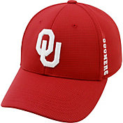 Top of the World Men's Oklahoma Sooners Crimson Booster Plus 1Fit Flex Hat