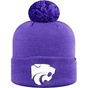 Top of the World Men's Kansas State Wildcats Purple Pom Knit Beanie