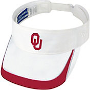 Top of the World Men's Oklahoma Sooners White Teed Off Visor