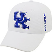 Top of the World Men's Kentucky Wildcats White Booster Plus 1Fit Flex Hat