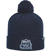 Top of the World Men's Old Dominion Monarchs Blue Pom Knit Beanie