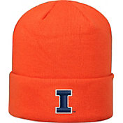 Top of the World Men's Illinois Fighting Illini Orange Cuff Knit Beanie