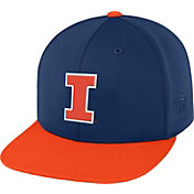 Top of the World Men's Illinois Fighting Illini Blue/Orange Eager Snapback Hat