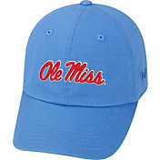 Top of the World Men's Ole Miss Rebels Light Blue Crew Adjustable Hat