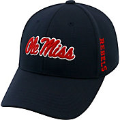 Top of the World Men's Ole Miss Rebels Blue Booster Plus 1Fit Flex Hat