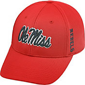Top of the World Men's Ole Miss Rebels Red Booster Plus 1Fit Flex Hat