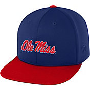 Top of the World Men's Ole Miss Rebels Blue/Red Eager Snapback Hat