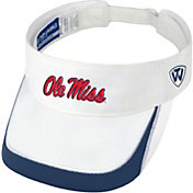 Top of the World Men's Ole Miss Rebels White Teed Off Visor