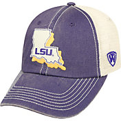 Top of the World Men's LSU Tigers Purple/White United Adjustable Snapback Hat