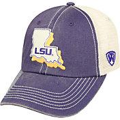 Top of the World Men's LSU Tigers Purple/White United Adjustable Snapback Hat