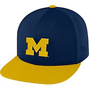 Top of the World Men's Michigan Wolverines Blue/Maize Eager Snapback Hat