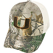 Top of the World Men's Miami Hurricanes Realtree Xtra Yonder Adjustable Snapback Hat