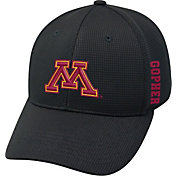 Top of the World Men's Minnesota Golden Gophers Black Booster Plus 1Fit Flex Hat