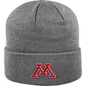 Top of the World Men's Minnesota Golden Gophers Grey Cuff Knit Beanie