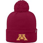 Top of the World Men's Minnesota Golden Gophers Maroon Pom Knit Beanie