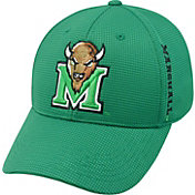 Top of the World Men's Marshall Thundering Herd Green Booster Plus 1Fit Flex Hat