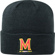 Top of the World Men's Maryland Terrapins Black Cuff Knit Beanie