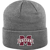 Top of the World Men's Mississippi State Bulldogs Grey Cuff Knit Beanie