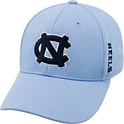 Top of the World Men's North Carolina Tar Heels Carolina Blue Booster Plus 1Fit Flex Hat
