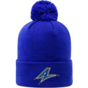 Top of the World Men's UNC Asheville Bulldogs Royal Blue Pom Knit Beanie