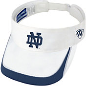 Top of the World Men's Notre Dame Fighting Irish White Teed Off Visor