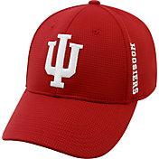 Top of the World Men's Indiana Hoosiers Crimson Booster Plus 1Fit Flex Hat