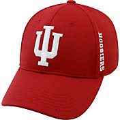 Top of the World Men's Indiana Hoosiers Crimson Booster Plus 1Fit Flex Hat