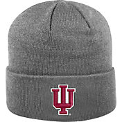 Top of the World Men's Indiana Hoosiers Grey Cuff Knit Beanie