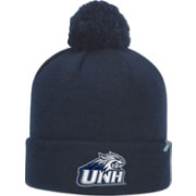 Top of the World Men's New Hampshire Wildcats Blue Pom Knit Beanie