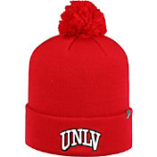 Top of the World Men's UNLV Rebels Scarlet Pom Knit Beanie