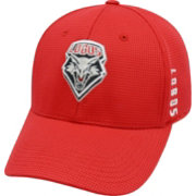 Top of the World Men's New Mexico Lobos Cherry Booster Plus 1Fit Flex Hat