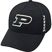 Top of the World Men's Purdue Boilermakers Black Booster Plus 1Fit Flex Hat